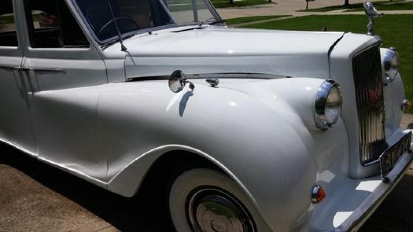 1962 White Bentley Austin Princess , located at See Dealer For Details Not at our location, miles, location, condition prices, availability, etc. subject to change, YT, 0.000000, 0.000000 - Photo #2