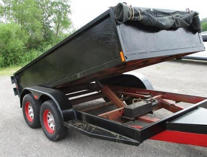2003 Other 12' Dump Trailer , located at 1725 US-68 N, Bellefontaine, OH, 43311, (937) 592-5466, 40.387783, -83.752388 - Photo #2
