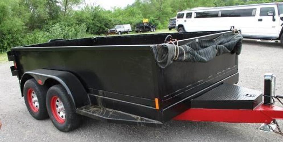 2003 Other 12' Dump Trailer , located at 1725 US-68 N, Bellefontaine, OH, 43311, (937) 592-5466, 40.387783, -83.752388 - Photo #6