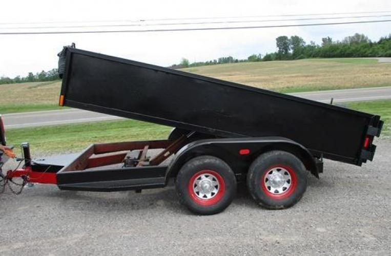 2003 Other 12' Dump Trailer , located at 1725 US-68 N, Bellefontaine, OH, 43311, (937) 592-5466, 40.387783, -83.752388 - Photo #7